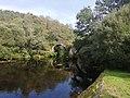 0048 Reserva de la Biosfera Terras do Miño. Piente medieval sobre el río Parga.jpg