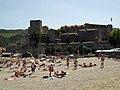 019 El Castell Reial des de la platja de Voramar.jpg
