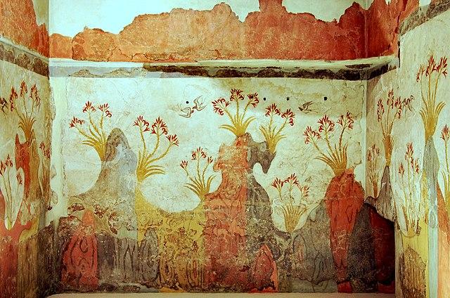 Spring fresco from Akrotiri
