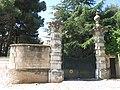 059 Can Malagrida (Premià de Dalt), portal del recinte, cra. del Ramal 21.jpg