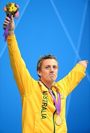Matthew Cowdrey - Cowdrey, gold medallist. at the 2012 London Paralympics