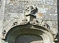 07 Poullaouen Inscription façade sud église paroissiale.JPG
