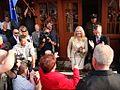 09984 Bilder von der Marktplatzeröffnung im Freilichtmuseum Sanok durch Minister Zdrojewski, am 16. September 2011.jpg