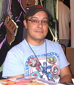 José Marzan Jr. - Marzan at the New York Comic Con in Manhattan, October 10, 2010.