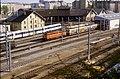 109R21141083 Bereich Wirtschaftsuniversität, Franz Josefs Bahnhof, RundlokschuppenLok 1042, Lok 4030.jpg