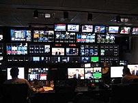 FOX Business Network's control room