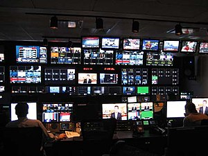 Fox Business Network - FBN's control room.