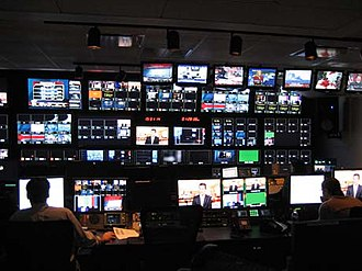 Fox Business Network - FBN's control room
