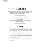 116th United States Congress H. R. 0000168 (1st session) - Reentry and Reunification Act.pdf