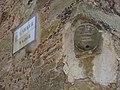 119 Testa de pedra a la cantonada dels carrers Major i Pedró (la Pera).jpg