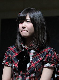 130413 AKB48 at Tokyo Auto Salon Singapore Meet & Greet 2 and Performance (Sumire Sato).jpg