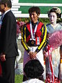 147th Tennosho spring (20 Ceremony 06 Masayoshi Ebina 01) IMG 2658 20130428.JPG