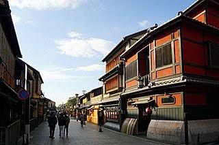Gion Geisha district in Kyoto