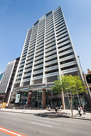 160 Ann Street, Brisbane - Image: 160 Ann Street View