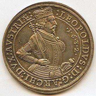 Leopold V, Archduke of Austria - Image: 1632 Leopold V von Oesterreich Tirol Avers