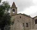 17 Sant Genís dels Agudells, rectoria i campanar.jpg