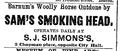 1874 Simmons ChapmanPlace BostonDailyGlobe 18November.png