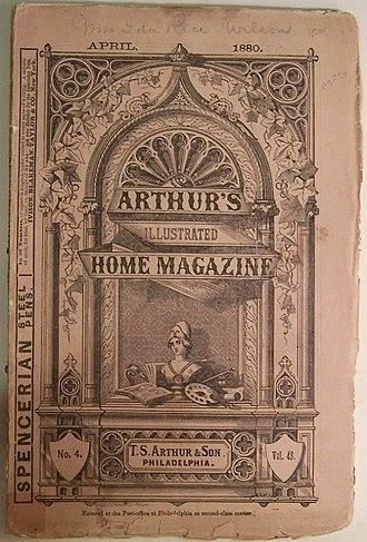 Arthur's Lady's Home Magazine - Image: 1880 Arthurs Illustrated Home Magazine v 48 no 4