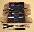 18th century surgical instrument case of Dr. Gillespie, Wellcome L0012240.jpg