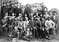 1900. Рабочие прокатного отделения Донецкого металлургического завода (Дружковка).jpg
