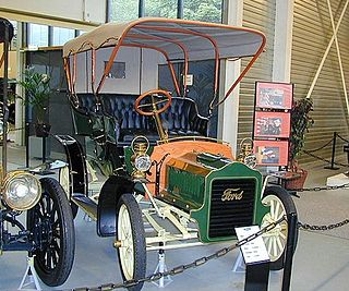 Ford Model F Motor vehicle