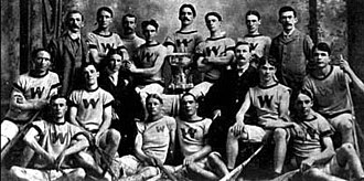 Lacrosse at the 1904 Summer Olympics - Image: 1904 Winnipeg Shamrocks Lacrosse