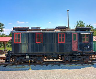 Boxcab - Preserved Alco boxcab at the North Alabama Railroad Museum