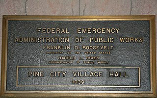 Public Works Administration Part of the New Deal of 1933 in the U.S.