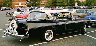 Continental tire - Image: 1958 Ambassador 4 d hardtop