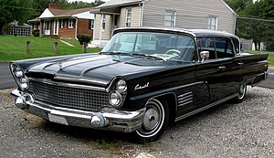 Landyacht - Image: 1960 Lincoln Continental 10 02 2009