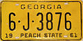 1961 Georgia license plate.jpg