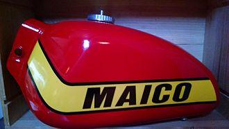 Maico - Restored 1978-1979 Maico Teardrop fuel tank
