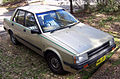 1983 Nissan Pulsar (N12) GL sedan (2007-08-25) 01.jpg