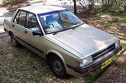 1982–1985 Nissan Pulsar (N12) GL sedan (Australia)