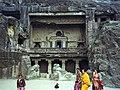 1996 -210-10 (Dec95) Aurangabad Ellora Caves (2234165954).jpg