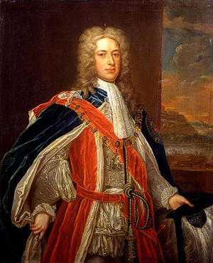 Thomas Pelham-Holles, 1st Duke of Newcastle - Newcastle in 1735 when he was Southern Secretary in the Walpole ministry