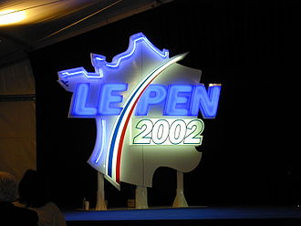 National Rally (France) - Logo for Le Pen's 2002 presidential campaign