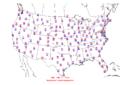 2006-06-15 Max-min Temperature Map NOAA.png