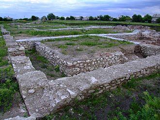 Potaissa (castra) - Roman bath at Castra Potaissa