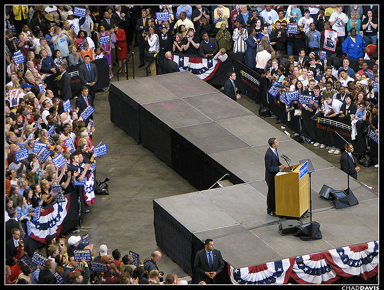 File:20080603 Obama Speaks to crowd on Nomination Victory Night.jpg