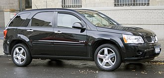 Chevrolet Equinox - 2008 Pontiac Torrent GXP