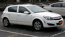 Opel astra in usa