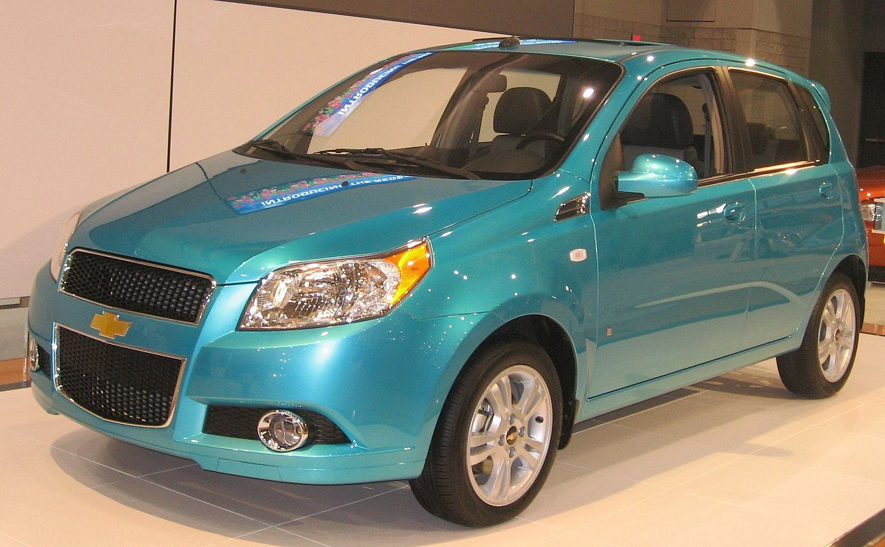All Chevy chevy aveo 2009 : File:2009 Chevrolet Aveo5 front DC.JPG - Wikimedia Commons
