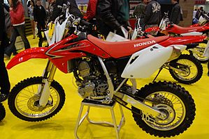 2010 Honda CRF155R at the 2009 Seattle International Motorcycle Show 1.jpg