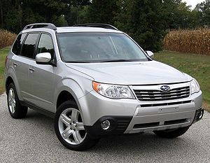 2010 Subaru Forester photographed in Nanjemoy,...
