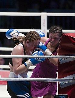 Christina Hammer German boxer