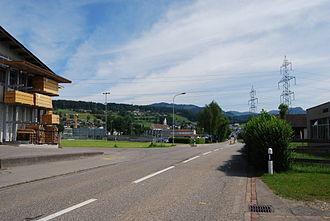 Eschenbach, St. Gallen - Eschenbach and surrounding hills