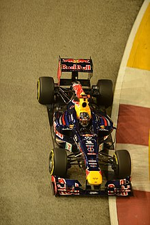 04651a2b28b7c Vettel took his second victory of the 2012 season at the Singapore Grand  Prix