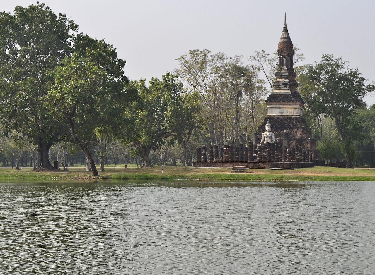 File:201312141147a HL ps Sukhothai, Wat Traphang Ngoen.jpg ...