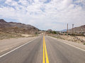 2014-07-17 12 04 59 View west along U.S. Route 6 about 2.1 miles east of the Esmeralda County Line in Tonopah, Nevada.JPG